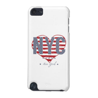 NYC American Flag Heart iPod Touch (5th Generation) Cover