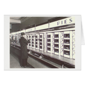 NYC Automat Photo by Berenice Abbott Card
