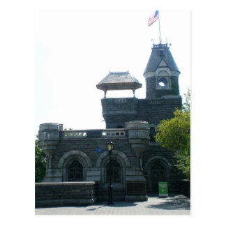 NYC Belvedere Castle Postcard