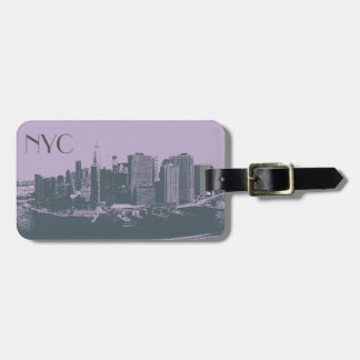 NYC Big Apple vintage graphic style Luggage Tag