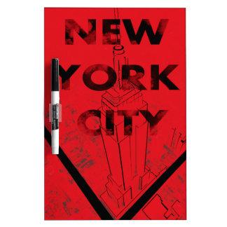 NYC Board Dry-Erase Board