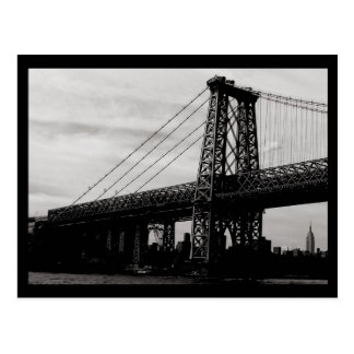 NYC Bridge Postcard