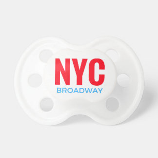 NYC Broadway Pacifier