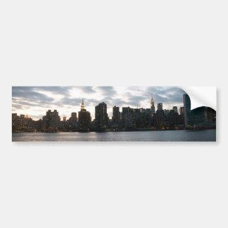 NYC CAR BUMPER STICKER