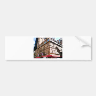 NYC Carnegie Hall Bumper Sticker