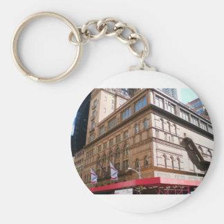 NYC Carnegie Hall Keychain