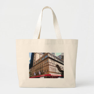 NYC Carnegie Hall Large Tote Bag