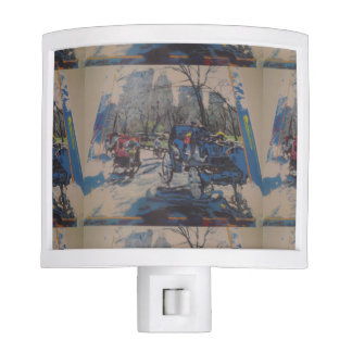 NYC Central Park prints Night Light