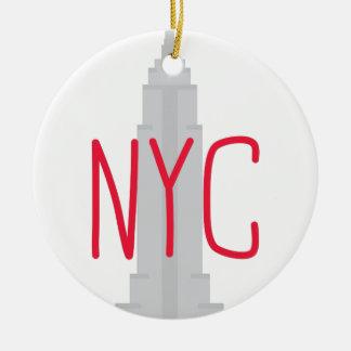 NYC CERAMIC ORNAMENT