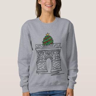 NYC Christmas Tree Washington Square Sweatshirt