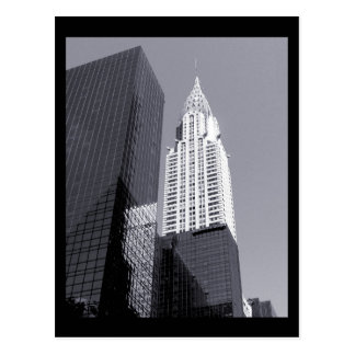 NYC Chrysler Building Postcard