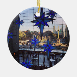 NYC Columbus Circle Christmas Ornaments