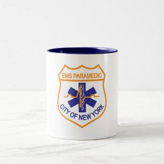 NYC EMS Paramedic Mug