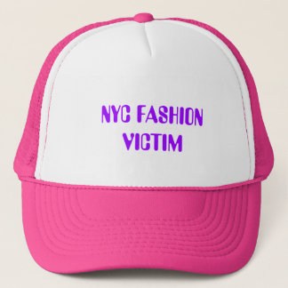 NYC FASHION VICTIM TRUCKER HAT