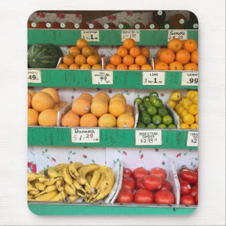 NYC Fruit Stand Sidewalk Grocery New York City Mouse Pad