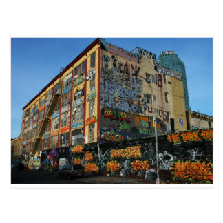 nyc graffiti sick styles postcard