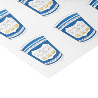 NYC Greek Diner Happy to Serve Coffee Cup Tissue Tissue Paper