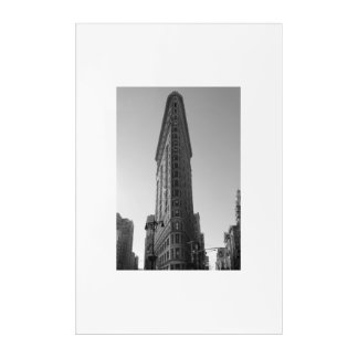 NYC Historic Flatiron Acrylic Wall Art