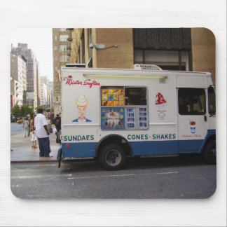 NYC Ice Cream Truck Mouse Pad