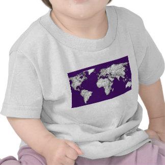 NYC in dark purple T Shirt