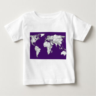 NYC in dark purple T-shirt