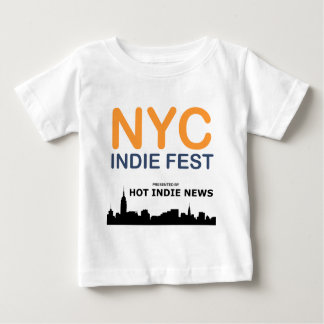 NYC INDIE FEST SWAG BABY T-Shirt