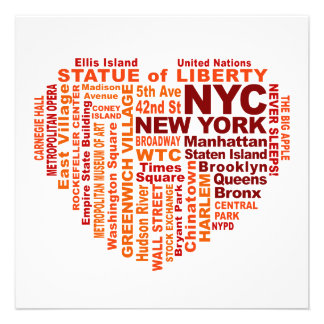 NYC invitation - customize