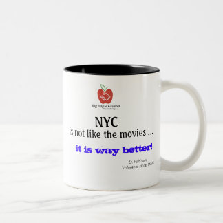 NYC is not like the movies Mug