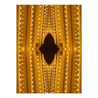 NYC Landmarks Theater Marquis Lights Broadway Invitations
