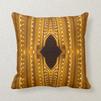 NYC Landmarks Theater Marquis Lights Broadway Throw Pillow