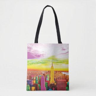 NYC landscape tote bag