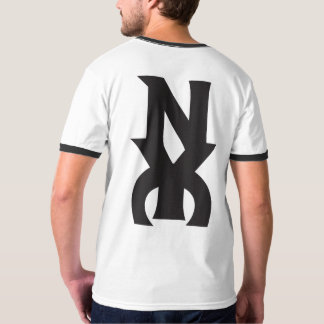 NYC LOGO BLACK ON WHITE HAVIC ACD T-Shirt