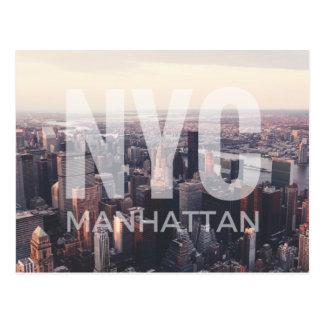 NYC Manhattan Postcard