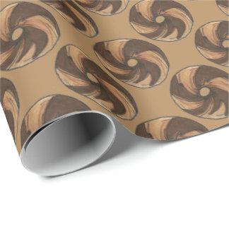 NYC Marble Rye Bagel Bagels Foodie Gift Wrap