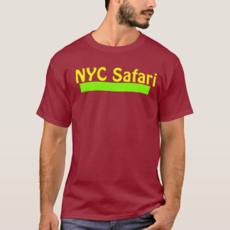 NYC Maroon Safari Tee