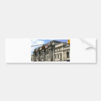 NYC Metropolitan Museum Bumper Sticker