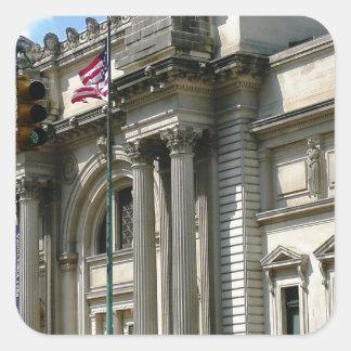 NYC Metropolitan Museum Square Sticker