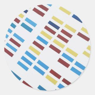 NYC Modern Art Round Sticker