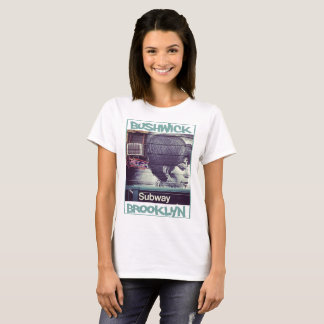 NYC Nabes Collection - Bushwick Subway T-Shirt