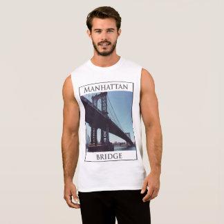 NYC Nabes Collection - Manhattan Bridge Sleeveless Shirt