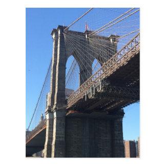 NYC New York City Brooklyn Bridge Postcard