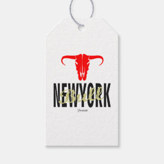 NYC New York City Bull by VIMAGO Gift Tags