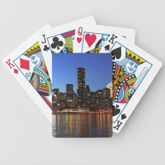 NYC New York City Manhattan Night Poker Deck