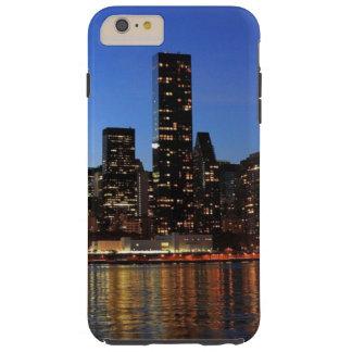 NYC New York City Manhattan Night Tough iPhone 6 Plus Case