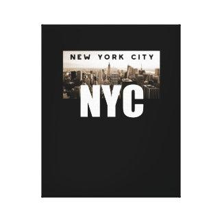 NYC New York City. Skyline. America, USA Canvas Print