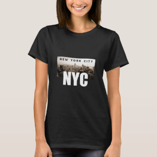 NYC New York City. Skyline. America, USA T-Shirt