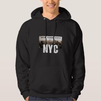 NYC New York City Skyline Photo Architecture Hoodie
