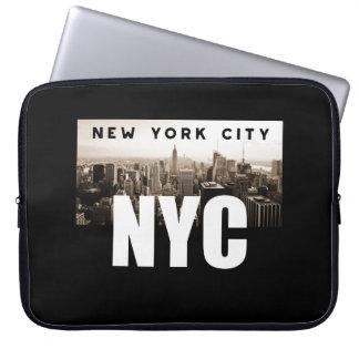 NYC New York City Skyline Photo Architecture Laptop Sleeve