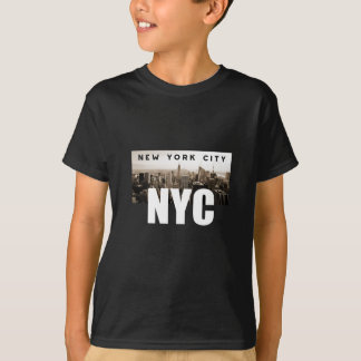 NYC New York City Skyline Photo Architecture T-Shirt