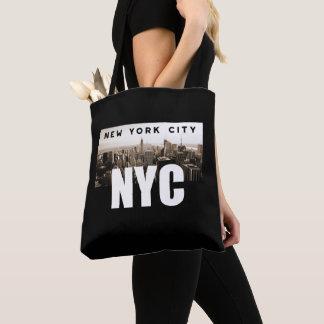 NYC New York City Skyline Photo Architecture Tote Bag